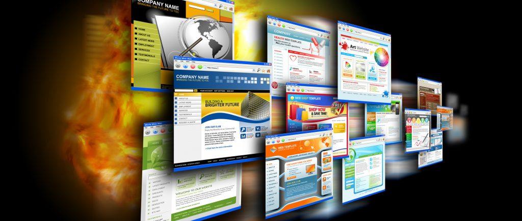 Internet Speed Websites on Black